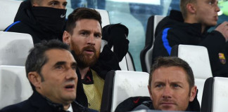 Lionel Messi Benched Against Juventus