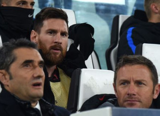 Lionel Messi Benched Against Juventus
