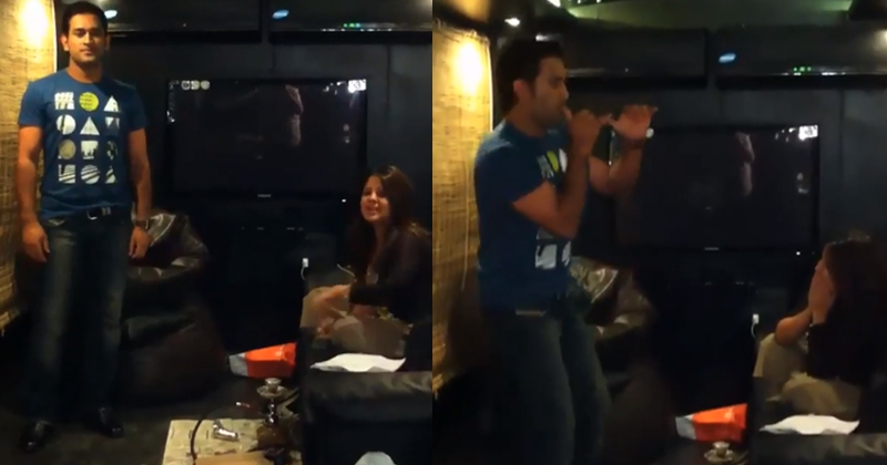 MS Dhoni Gives The Most Hysterical Dance