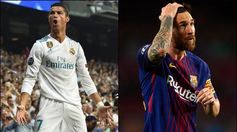 Ronaldo overtakes Messi in Champions League