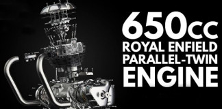 Royal Enfield 650 cc Parallel-Twin Engine Unveiled