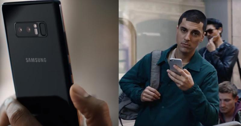 Samsung's New Ad Mocking iPhone X