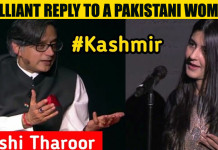 Shashi Tharoor Gave A 'Sassy' Reply On The Kashmir Issue To A Pakistani Woman