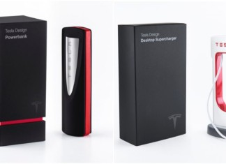 Tesla PowerBank and Desktop Supercharger