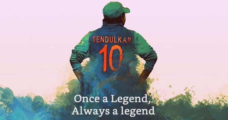 The Legacy Of Sachin Tendulkar's No. 10 Jersey To Remain Untouched