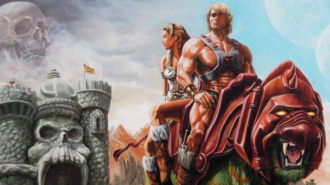 The legend of the He-Man