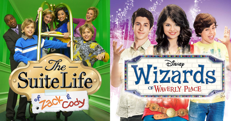 Wizards of Waverly Place and he Suite Life Of Zack And Cody