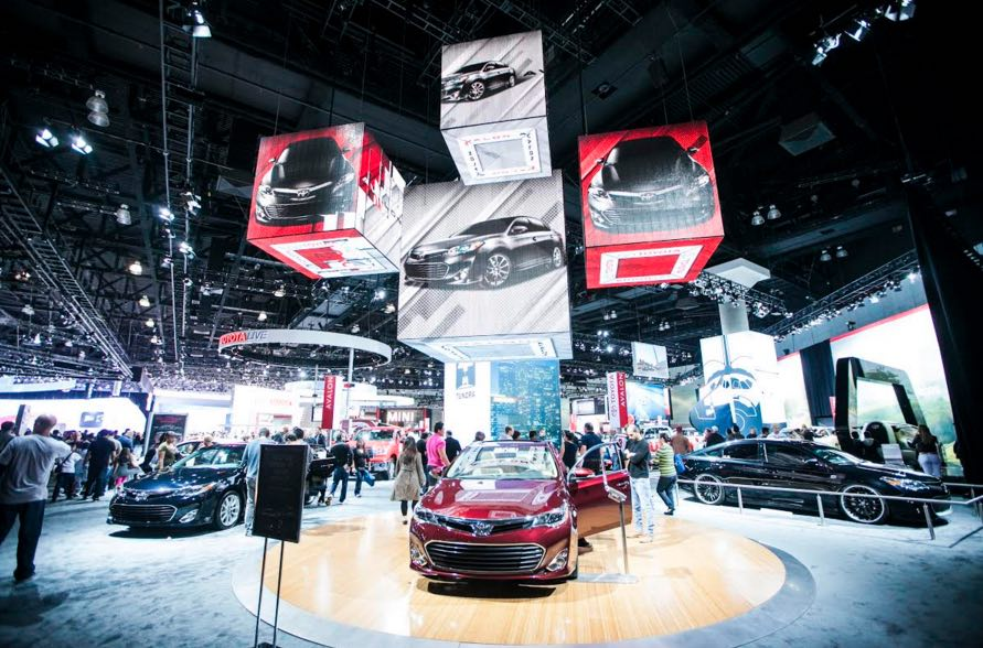 2017 39 s auto show at la promises unparalleled excitement. Black Bedroom Furniture Sets. Home Design Ideas