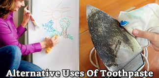 7 Amazing Alternative Uses Of Toothpaste Other Than Brushing Your Teeth!