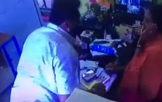 BJP Leader Ramakrishnappa Caught On Tape
