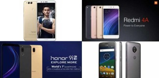Best Budget Smartphones Of 2017: The Benchmark Setters