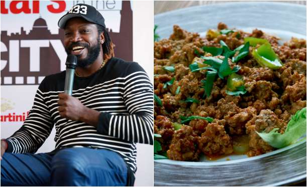 Chris Gayle favorite foods are Ackee and Salt Fish