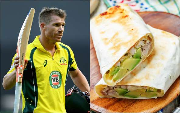 David Warner Favorite dish is chicken avocado sandwich
