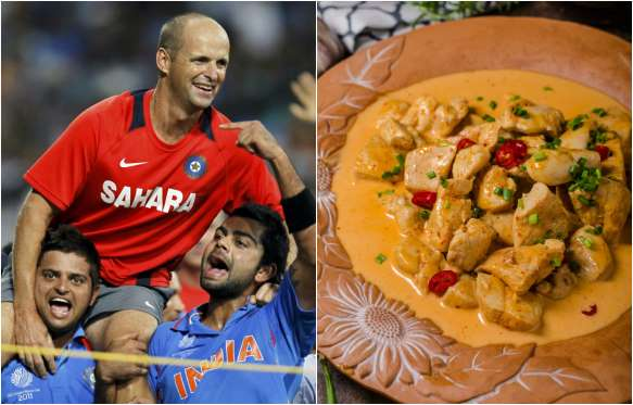 Gary Kirsten Favorite dish is Indian curry with meat