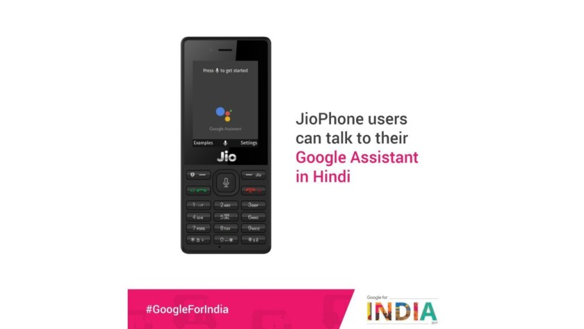 Google Assistant for the JioPhone