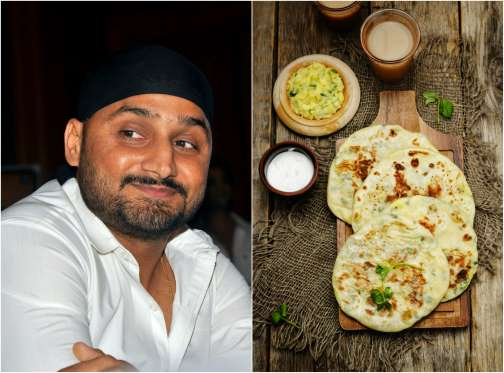 Harbhajan Singh Favorite food is Aloo Paratha