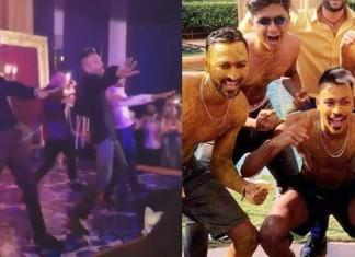 Hardik Pandya's Insane Dance Steps At Brother Krunal's Mehendi Function