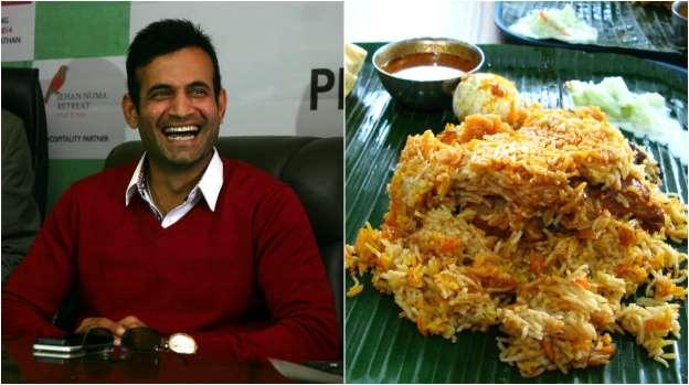 Irrfan Pathan Favorite dish is Dum Biryani