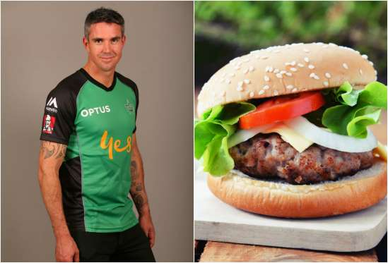 Kevin Pietersen favorite dishes are burgers and Biltong with his favourite wine