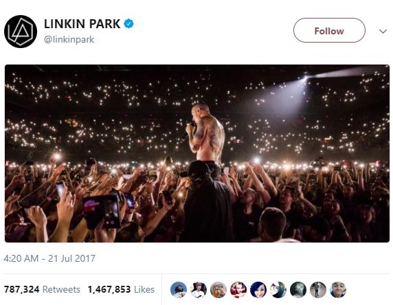 LINKIN PARK tweet