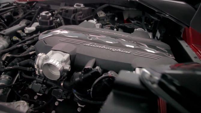 Lamborghini Urus engines