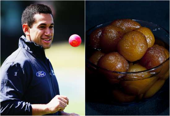 Ross Taylor recently fell in love with an Indian sweet dish, Gulab Jamun.