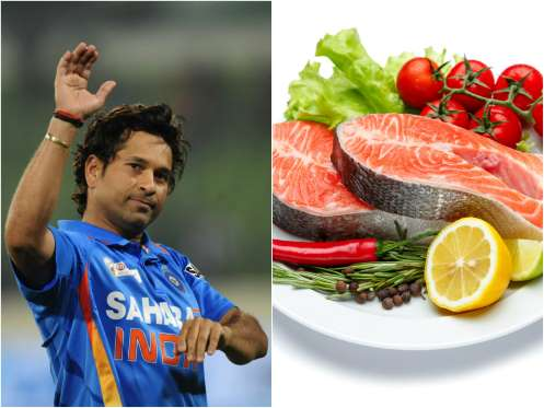 Sachin Tendulkar Favorite food are Sushi and Sashimi