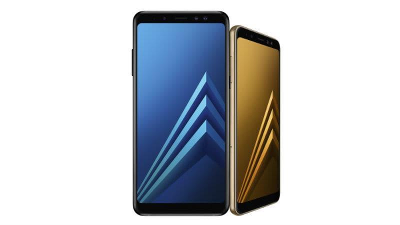 Samsung Galaxy A8 and Samsung Galaxy A8 Plus