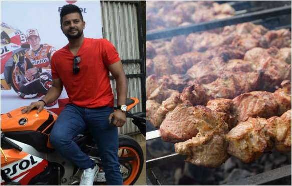 Suresh Raina Favorite dish is Kebabs