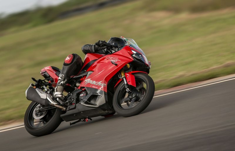 TVS Apache RR 310 ride and handling