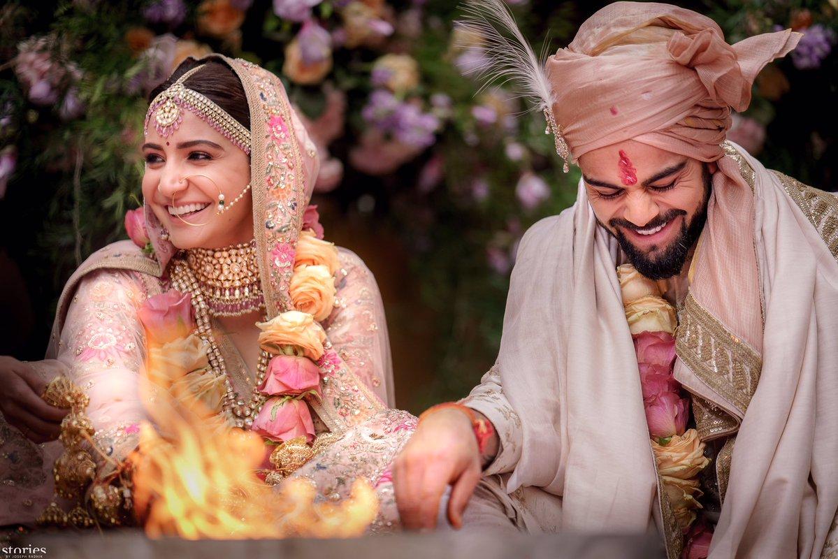 virat amp anushka wedding pictures are taking the internet