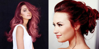 Wine Coloured Hair Trend