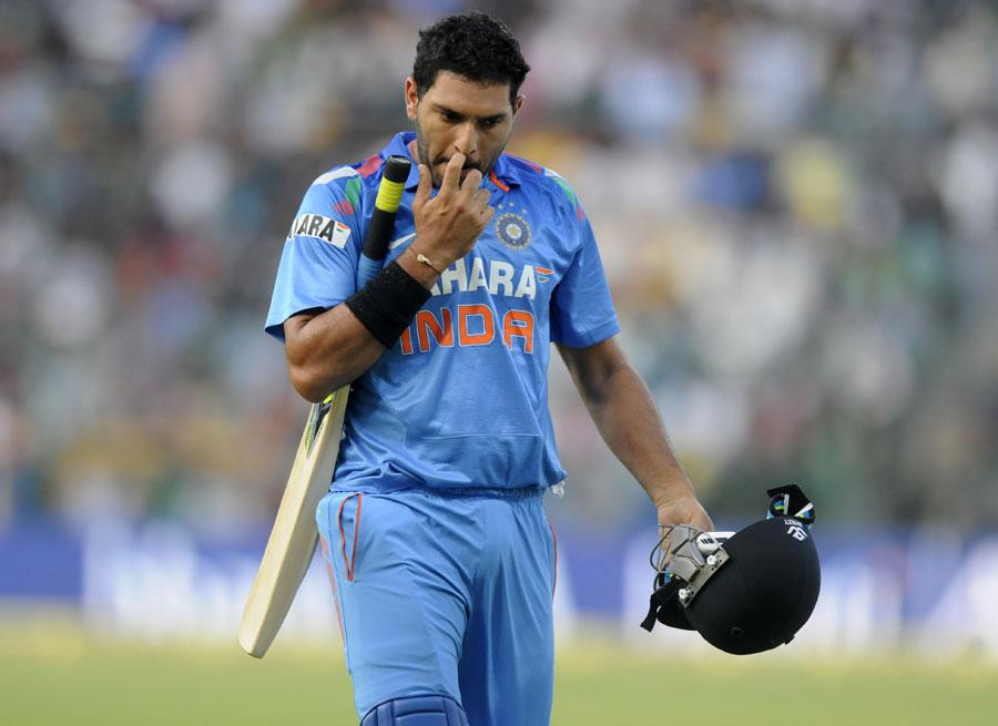 Yuvraj Singh fails in yo-yo test