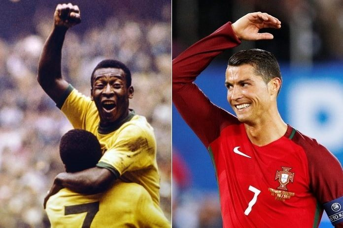 ronaldo breaks pele's record fifa club world cup