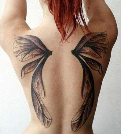 sexy back tattoo 16