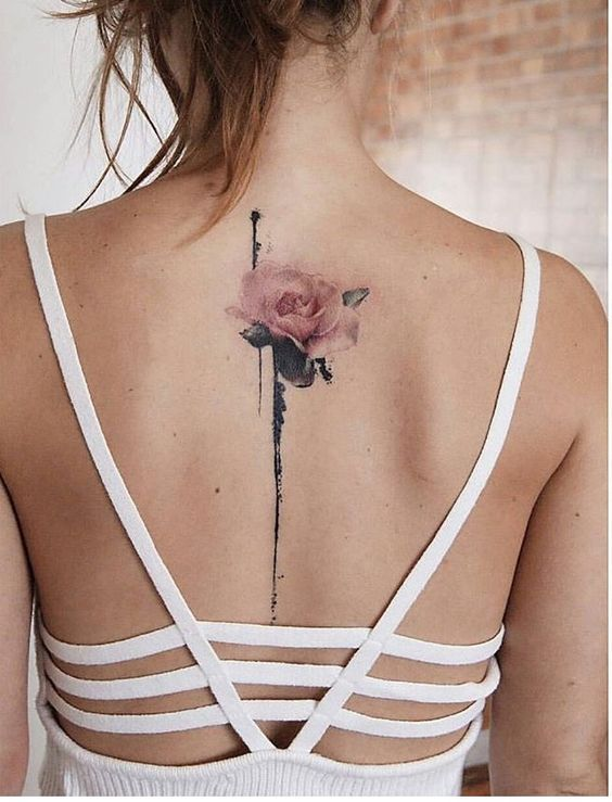 Sexy Back Tattoo Ideas For Girls