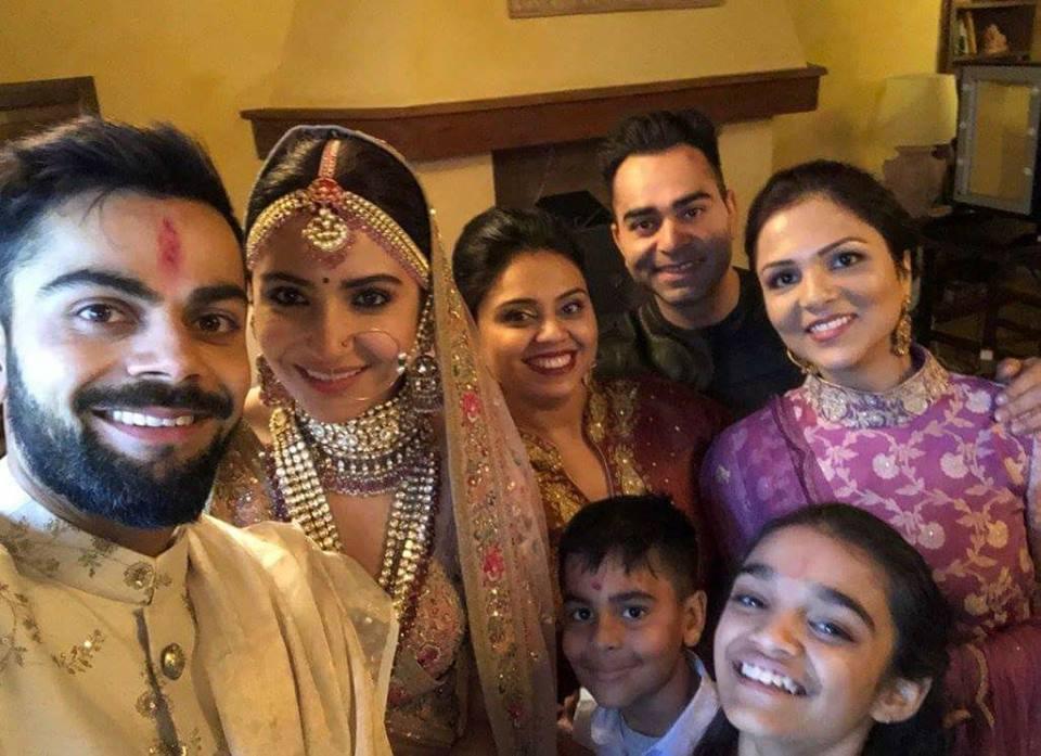 virat kohli anushka sharma wedding 2