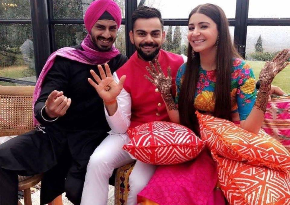 virat kohli anushka sharma wedding 8