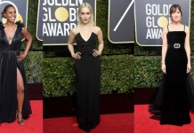 2017 Golden Globes Wear Black