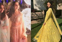 Alia Bhatt Looks Absolutely Amazeballs At Her Bestie's Wedding