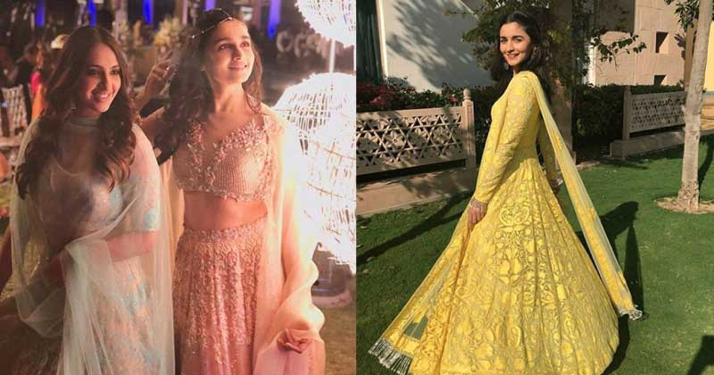Alia Bhatt Looks Absolutely Amazeballs At Her Bestie's Wedding