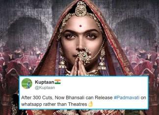 CBFC Denies 300 Cuts In Padmavat, But Twitter Just Can't Stop Trolling