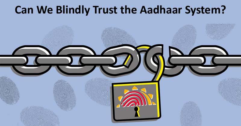 To Aadhaar Or Not To Aadhaar