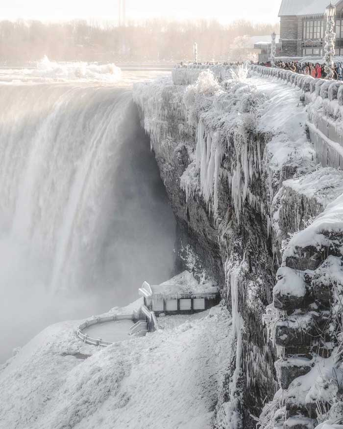 These Pictures Of Frozen Niagara Falls Will Give You Major ...