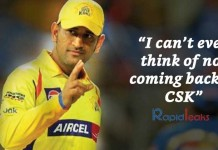 IPL 2018: Why MS Dhoni Chose CSK Despite Other Offers?
