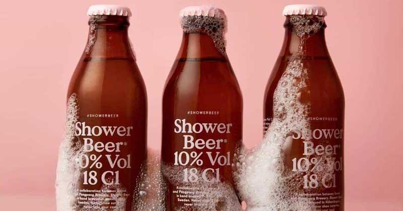 In A First, Sweden Develops Unique Shower Beer