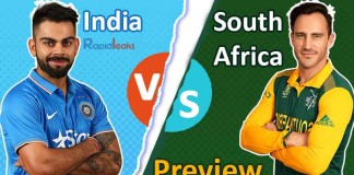 India vs South Africa 2018 Preview