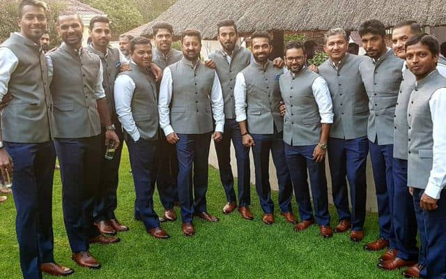 Indian team visits India House at Johannesburg