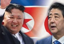 Japan PM Shinzo Abe Expresses Grave Concern About North Korea Going Nuclear