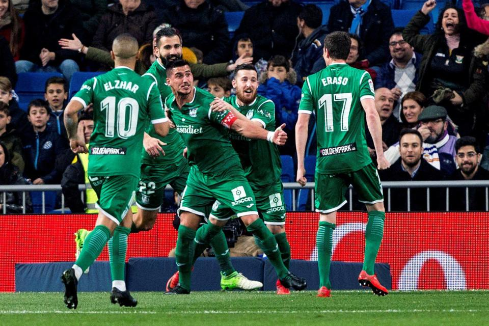 Leganes beat real madrid